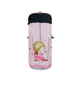 Universal Footmuff Stroller Princess