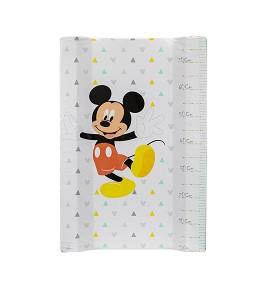Cubrebañeras con Esponja Plastificado Mod Mickey 80 Cms