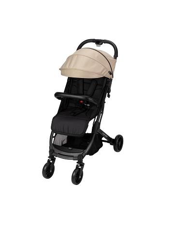 Minimum Space Beige Stroller
