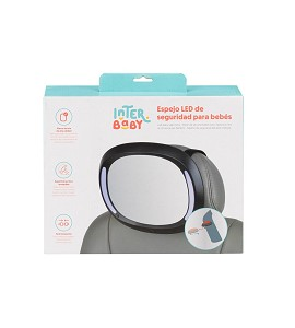 Baby Car Mirror with Led Light