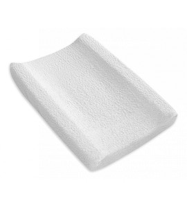 Changing Pad Cover White Curl
