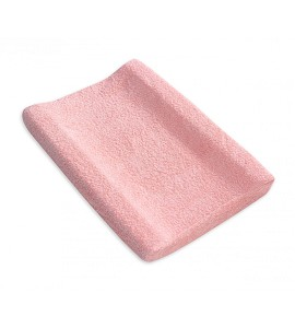 Changing Pad Cover Pink Curl