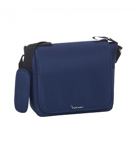 Nappy Bag - 32X14X31 - With Changing Mat Plastified - Navy Blue