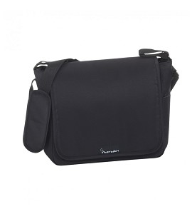 Nappy Bag - 32X14X31 - With Changing Mat Plastified - Black