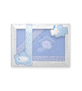 Sábanas Coche Coralina Casita Azul