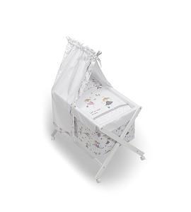 Minicuna Dosel Princesa con Textil