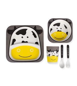 Set Vajilla Bebé 5 Piezas Cow