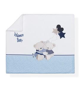Receiving Blanket Baby we Fly Blue