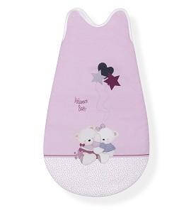 Sleeping Bag 70 Cm Mod. Volamos Baby Pink