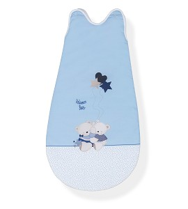 Sleeping Bag 90 Cm Mod.Volamos Baby Blue