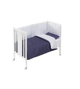 Cuna Monet Premium con Textil Universo Marino
