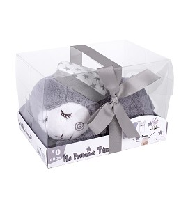 Termical Plush Toy - With Cherry Seeds - Mod. Sheep - Gray
