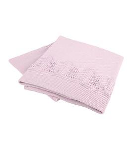 Draft Blanket Pink Cotton