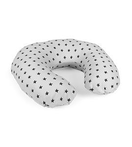 Breastfeeding Cushion Grey Star