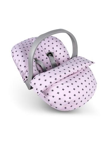 Baby Saco Estrella Rosa