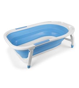 Bañera Plegable Azul m