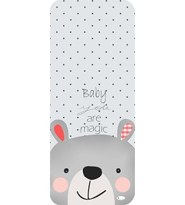 Cover For Pram 83X33 - Breathable/Cotton - Mod. Baby You Are Magic
