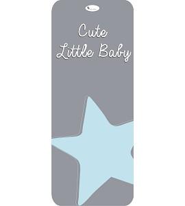 Colchoneta Universal Cute Little Baby Azul