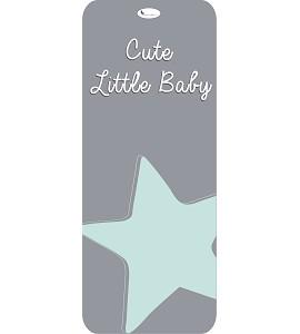 Colchoneta Universal Cute Little Baby Verde