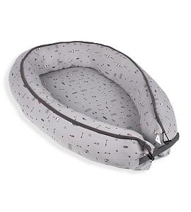 Don Allgodón Nest Pillow Grey Dakota