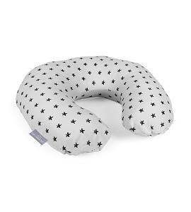 Don Algodón Breastfeeding Cushion Grey Stars