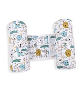 Pillow Anti-Roll Over - 26X22X10 - Cotton - Mod. Gatitos