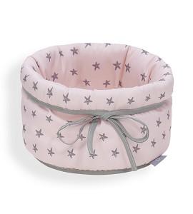 Basket - Mod Love You Pink