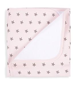 Don Algodón Receiving Blanket Love You Pink
