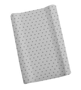 Cover For Changing Mattress - Jersey - Mod. Love You - Gray
