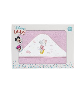Capa de Baño Disney Counting Sheep Minnie Rosa