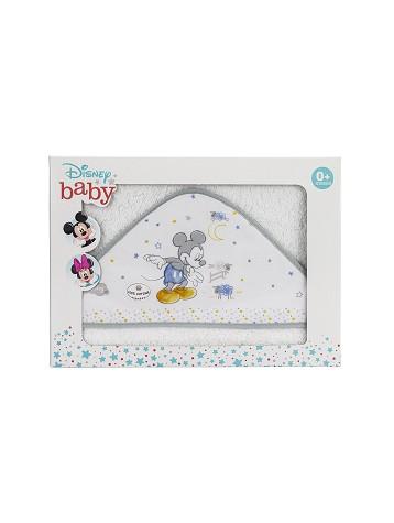 Capa de Baño Disney Counting Sheep Mickey Blanco y Gris