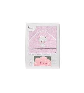 Bath Cape Swing Pink with GIFT Pink Cloud Night Lamp