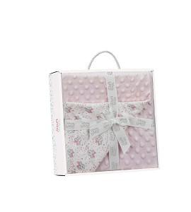 Bubble Blanket Pink Minnie Disney